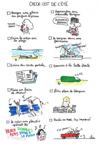 Check-list de l'été