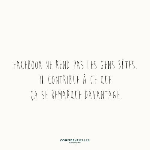 Mot de Facebook