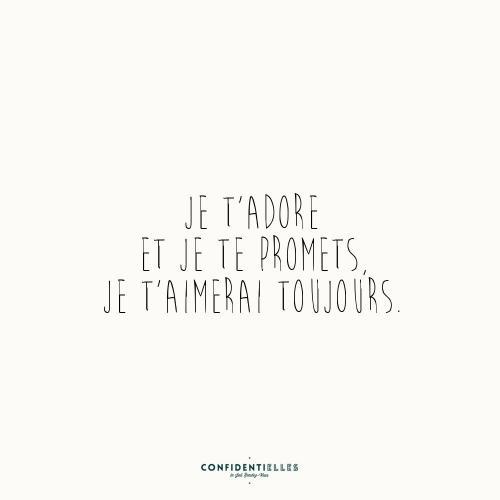 Mot d'amour