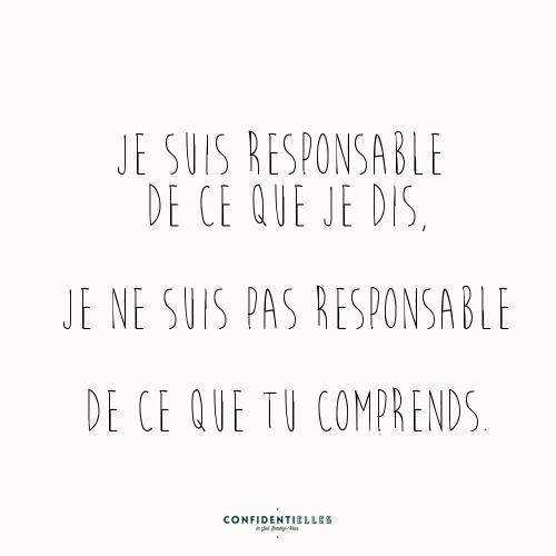 Mot responsable
