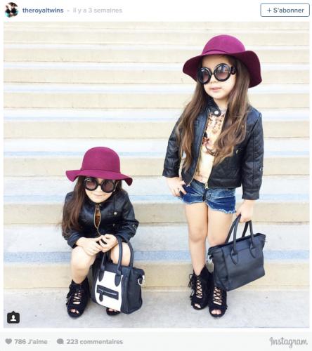 Bella et Chloé, deux trolls de 4 ANS qui affolent le WEB