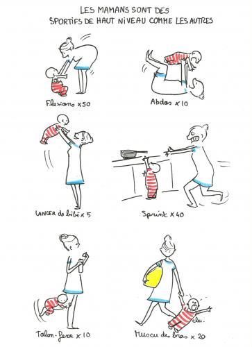 Le sport des mamans