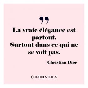Mot de Dior