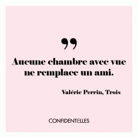 """L'amitié plus forte que tout ! Dans le livre """"Trois"""" de Valérie Perrin paru aux éditions Albin Mi..."""