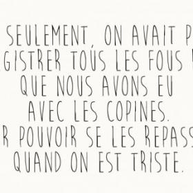 Si seulement...