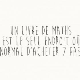 Mot de math