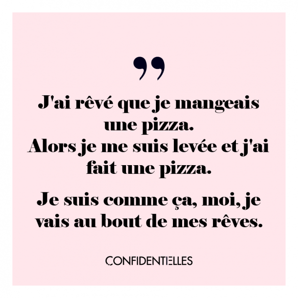 Toujours !