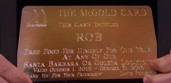 MCDONALD'S : une CARTE qui PERMET de MANGER GRATUITEMENT !