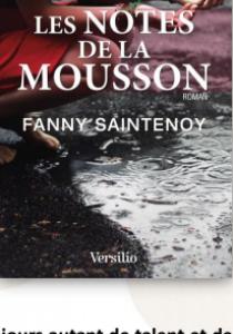 Prix littéraire : Les notes de la mousson, de Fanny Saintenoy