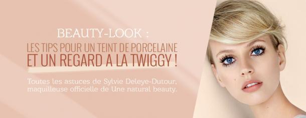 Beauty look : comment créer un teint de porcelaine et un regard à la twiggy ?