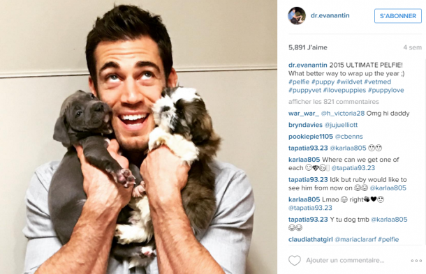 Evan Antin, le SEXY VETO qui fascine Instagram !