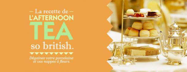 La recette de l'Afternoon Tea so british