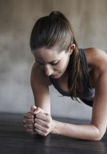 UN SEUL EXERCICE pour un VENTRE DE RÊVE – La planche