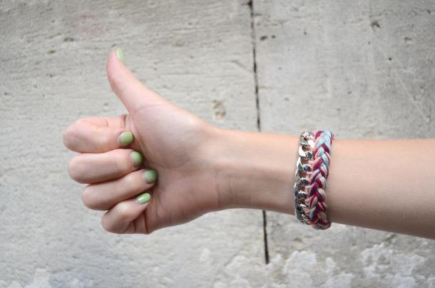 Tuto : le bracelet de l'été