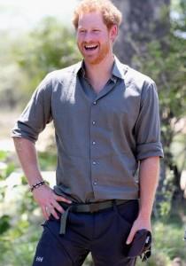 Quand le PRINCE HARRY s'amuse en PHOTO !