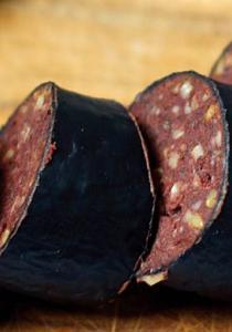 Votre nouvel aliment SUPERFOOD : le BOUDIN NOIR (oui, oui)
