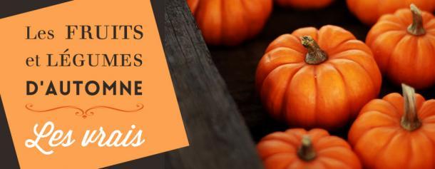 Les fruits et légumes d'automne. Les vrais de vrais
