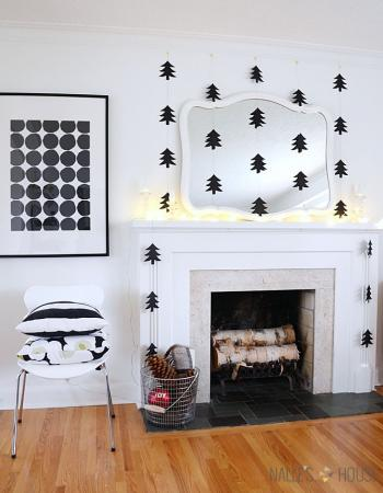 5 inspirations pour Noël black & white trendy !