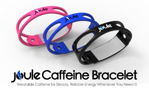 Ces BRACELETS vous donnent votre DOSE de CAFÉINE directement dans la peau