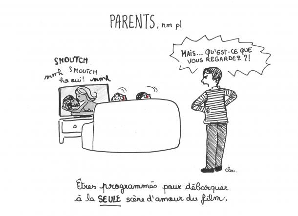 Les parents ont des antennes
