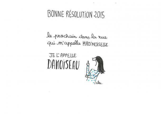 Bonne résolution pour 2015