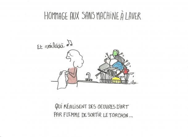 Les sans lave-vaisselle
