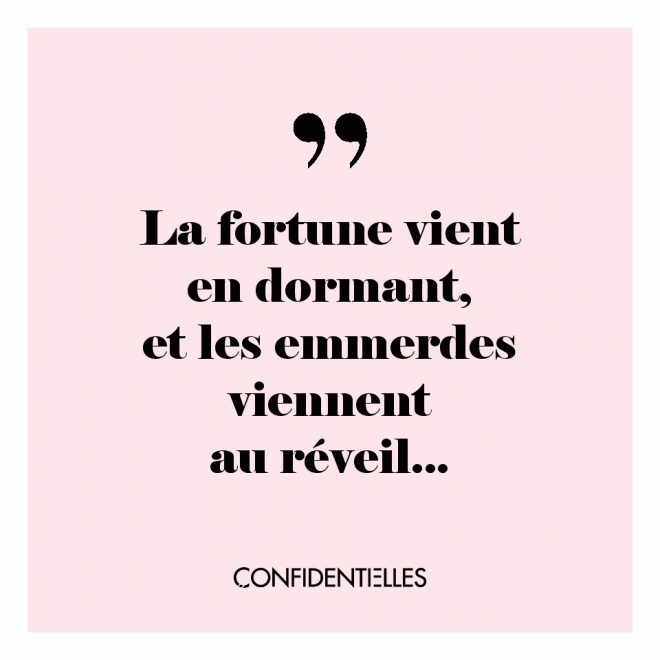 Nouveau proverbe !